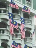 σημαίες $θμαλαισιανός Στοκ Φωτογραφία
