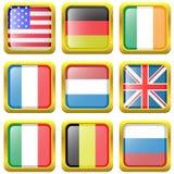 Σημαίες καθορισμένες Απεικόνιση αποθεμάτων