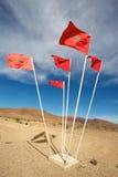 σημαίες Μαροκινός Στοκ Φωτογραφίες