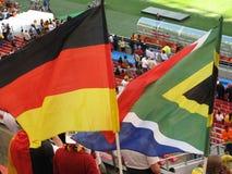 σημαίες που ενώνονται Στοκ Φωτογραφίες