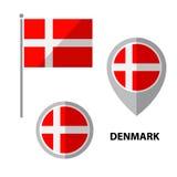 Σημαίες σύνολο-03 διανυσματική απεικόνιση