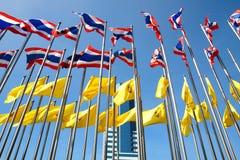 σημαίες Ταϊλάνδη Στοκ Φωτογραφία