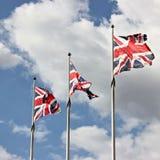 Σημαίες του Union Jack Στοκ εικόνα με δικαίωμα ελεύθερης χρήσης