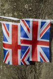 Σημαίες του Union Jack στοκ εικόνες