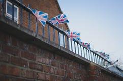 Σημαίες του Union Jack στοκ εικόνα