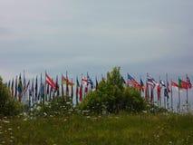 Σημαίες των κρατών Στοκ φωτογραφίες με δικαίωμα ελεύθερης χρήσης