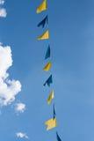 Σημαίες υφάσματος Στοκ Εικόνες