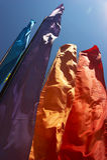 σημαίες φεστιβάλ Στοκ φωτογραφίες με δικαίωμα ελεύθερης χρήσης