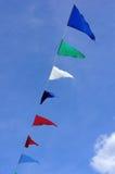 Σημαίες χρώματος Στοκ Εικόνες