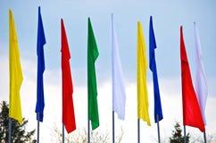 Σημαίες Στοκ εικόνες με δικαίωμα ελεύθερης χρήσης
