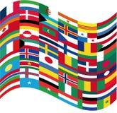 σημαίες απεικόνιση αποθεμάτων