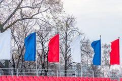 σημαιοστολίζει τον κυμ& Στοκ εικόνες με δικαίωμα ελεύθερης χρήσης