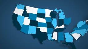 Σημαιοστολίζουμε το μπλε και άσπρο μπλε υπόβαθρο διανυσματική απεικόνιση