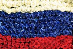 σημαιοστολίστε τα ρωσι&k Στοκ Εικόνες