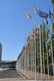 Σημαιοστολίζει από το 1998 την παγκόσμια έκθεση στη Λισσαβώνα, Πορτογαλία Στοκ φωτογραφία με δικαίωμα ελεύθερης χρήσης