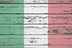 σημαιοστολίστε τα ιταλ& Στοκ Εικόνα