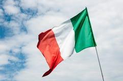 σημαιοστολίστε τα ιταλ& Στοκ Εικόνες