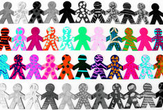 σημαντικές ομάδες έννοιας Στοκ Εικόνες