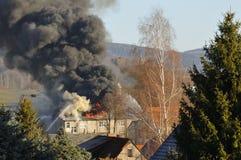 Σημαντική πυρκαγιά Στοκ εικόνα με δικαίωμα ελεύθερης χρήσης