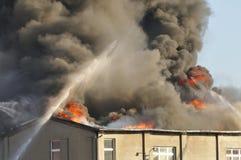 Σημαντική πυρκαγιά Στοκ φωτογραφία με δικαίωμα ελεύθερης χρήσης