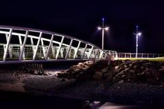 Σημαντική πόλη scape στη νύχτα στοκ φωτογραφία με δικαίωμα ελεύθερης χρήσης