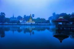 Σημαντικός διακινούμενος προορισμός της Hong Wat chong kam mae sorn nort στοκ φωτογραφία