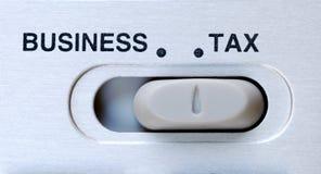 σημαντικός φόρος επιχειρ&e Στοκ φωτογραφίες με δικαίωμα ελεύθερης χρήσης