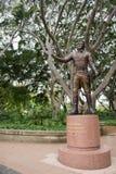 Σημαντικό άγαλμα στρατηγού Lachlan Macquarie: Χάιντ Παρκ Στοκ Εικόνες