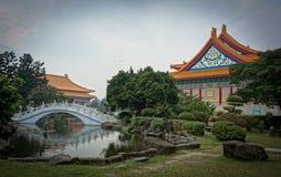 Σημαντικό μνημείο στην πόλη της Ταϊπέι στοκ εικόνα