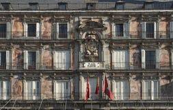 σημαντικό plaza της Μαδρίτης Στοκ εικόνες με δικαίωμα ελεύθερης χρήσης