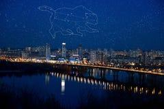 σημαντικό ursa αστερισμού Στοκ εικόνες με δικαίωμα ελεύθερης χρήσης