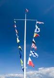 σηματοφόρος ιστών σημαιών στοκ φωτογραφίες με δικαίωμα ελεύθερης χρήσης