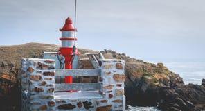 Σηματοφόρος στην είσοδο του λιμένα του Λα Meule στοκ εικόνες με δικαίωμα ελεύθερης χρήσης