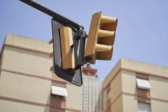 Σηματοφόρος στην οδό στοκ εικόνα με δικαίωμα ελεύθερης χρήσης