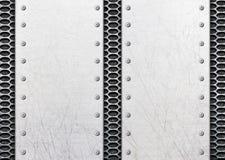 Σημεία ανοξείδωτου στο μονοπάτι μετάλλων ως αφής επίστρωση Στοκ εικόνα με δικαίωμα ελεύθερης χρήσης