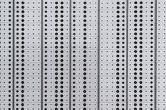 Σημεία σε μια σύσταση σχεδίων επιφάνειας μετάλλων στοκ εικόνες