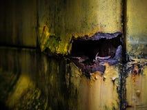 Σημεία σκουριάς σε ένα αυτοκίνητο Στοκ Φωτογραφίες