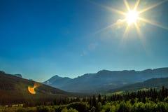 8 σημεία του φωτός με τη φλόγα Στοκ Εικόνες