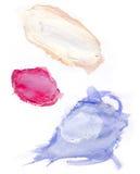 Σημεία χρωμάτων Στοκ Εικόνες