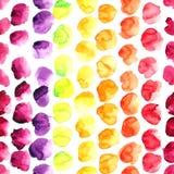 Σημεία χρώματος Watercolor Στοκ φωτογραφία με δικαίωμα ελεύθερης χρήσης