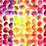 Σημεία χρώματος Watercolor Στοκ εικόνες με δικαίωμα ελεύθερης χρήσης