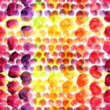 Σημεία χρώματος Watercolor Στοκ Εικόνα
