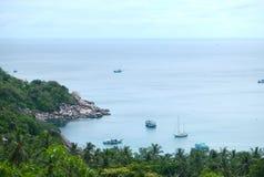 Σημείο άποψης του νησιού Tao Στοκ εικόνα με δικαίωμα ελεύθερης χρήσης