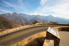 Σημείο αμφιθεάτρων Sequoia στοκ εικόνες
