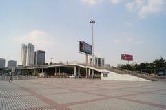 Σημείο ελέγχου Nantou Shenzhen Στοκ φωτογραφίες με δικαίωμα ελεύθερης χρήσης