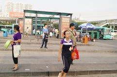 Σημείο ελέγχου Nantou Shenzhen Στοκ εικόνα με δικαίωμα ελεύθερης χρήσης