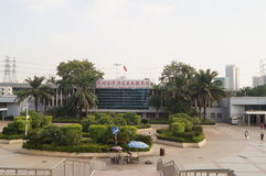 Σημείο ελέγχου Nantou Shenzhen Στοκ φωτογραφία με δικαίωμα ελεύθερης χρήσης