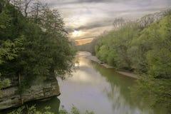 Σημείο ηλιοβασιλέματος στοκ εικόνα με δικαίωμα ελεύθερης χρήσης