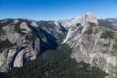 Σημείο παγετώνων στο εθνικό πάρκο Yosemite, Καλιφόρνια, ΗΠΑ Στοκ φωτογραφία με δικαίωμα ελεύθερης χρήσης