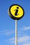 σημείο πληροφοριών Στοκ εικόνα με δικαίωμα ελεύθερης χρήσης
